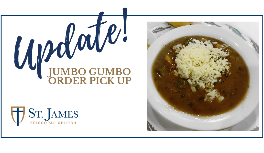 Jumbo Gumbo: Pick Up Update