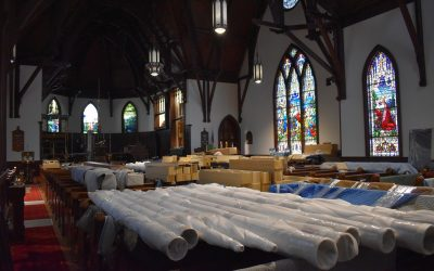 Organ Installation Updates